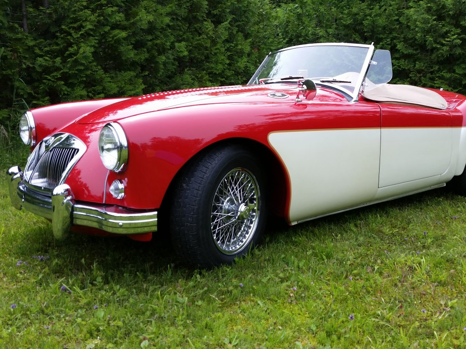 MG Type A – 1958