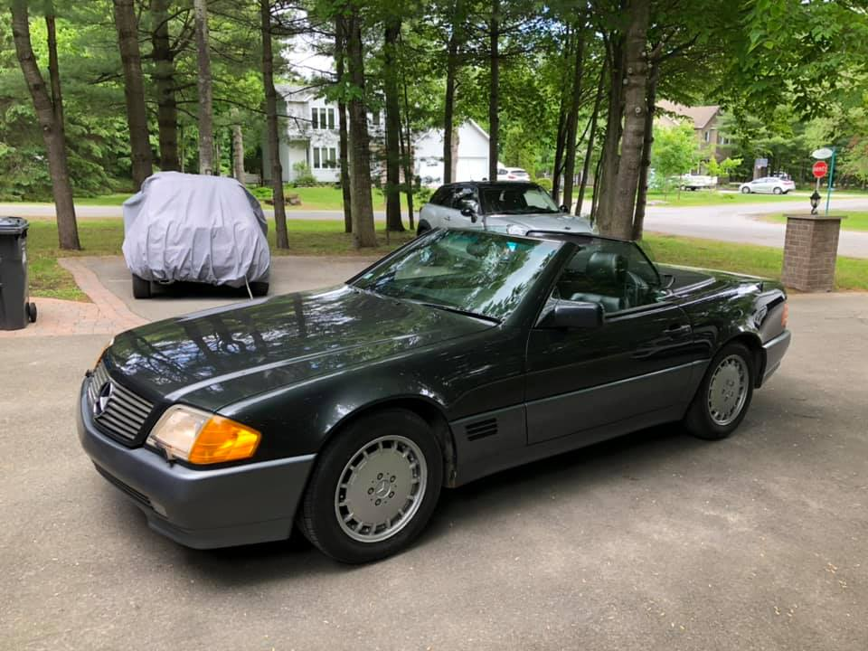 Mercedes-Benz 500SL – 1992