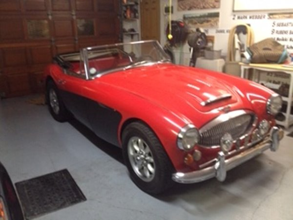 Austin Healey – BJ8 – MKIII – 3000 – 1966